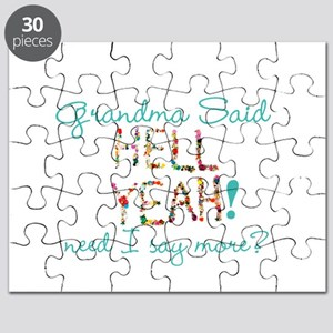hell yeah personalized Puzzle