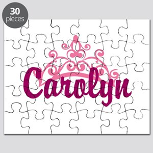 Princess Crown Personalize Puzzle