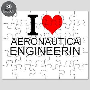 I Love Aeronautical Engineering Puzzle