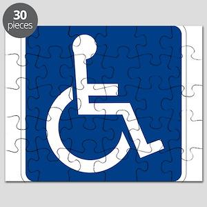 Handicap Sign Puzzle