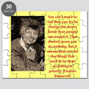 Eleanor Roosevelt quote Puzzle