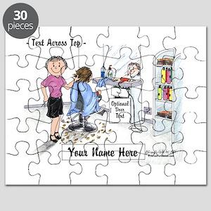 Hair Dresser, Female Puzzle