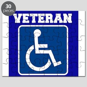 Disabled Handicapped Veteran Puzzle