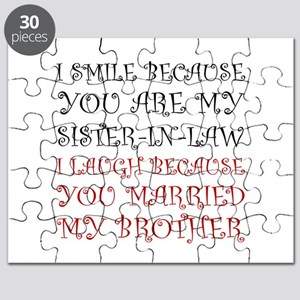 Smile Sister In Law Puzzle