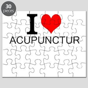 I Love Acupuncture Puzzle