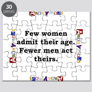 Few Women Admit Their Age - Anonymous Puzzle