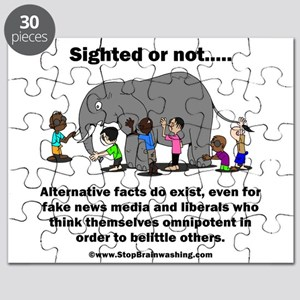 Alternative Facts do exist Puzzle
