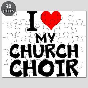 I Love My Church Choir Puzzle