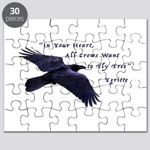 All Crows Want to Fly Free Puzzle