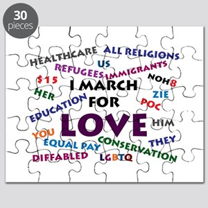I March for Love Puzzle