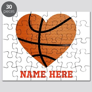 Basketball Love Personalized Puzzle