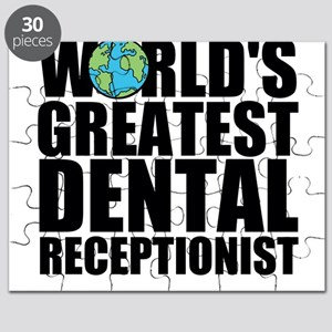 World's Greatest Dental Receptionist Puzzle