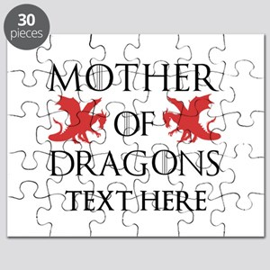 Mother of Dragons Personalizd Puzzle