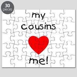 My cousins love me Puzzle
