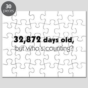 90th Birthday Puzzle