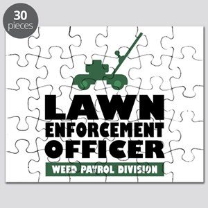 Lawn Enforcement Puzzle