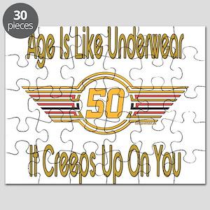 Funny 50th Birthday Puzzle