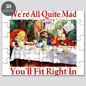 WE'RE ALL QUITE MAD Puzzle