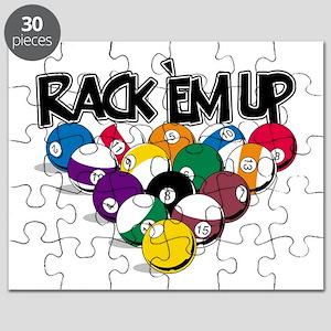 Rack Em Up Pool Puzzle