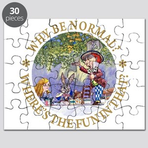 MAD HATTER - WHY BE NORMAL? Puzzle