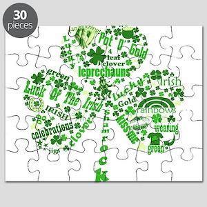 Irish Shamrock Puzzle