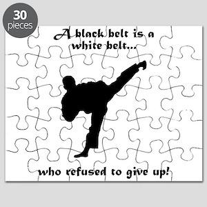 Black Belt Refusal Puzzle