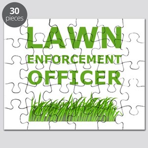 Lawn Enforcement Officer Puzzle