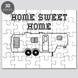 Home Sweet Home Fifth Wheel Puzzle
