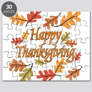 Happy Thanksgiving Puzzle