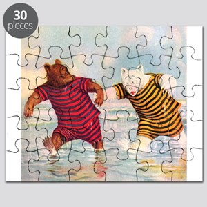 Roosevelt Bears on the Beach Puzzle