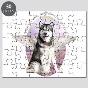 Malamute Angel Puzzle