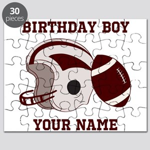 Birthday Boy Football Puzzle