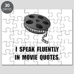 Speak Movie Quotes Puzzle