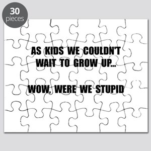Grow Up Stupid Puzzle