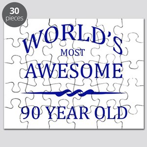 World's Most Awesome 90 Year Old Puzzle