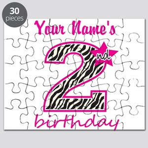 2nd Birthday - Personalized Puzzle