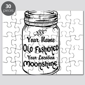 Custom Moonshine Puzzle