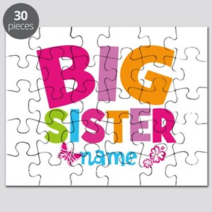 Personalized Name - Big Sister Puzzle
