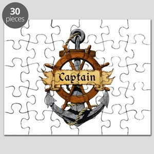 Captain and Anchor Puzzle