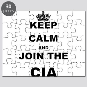 KEEP CALM AND JOIN THE CIA Puzzle