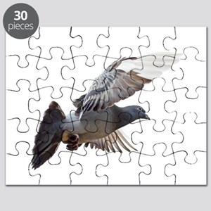 pigeon fly to love joy peace Puzzle
