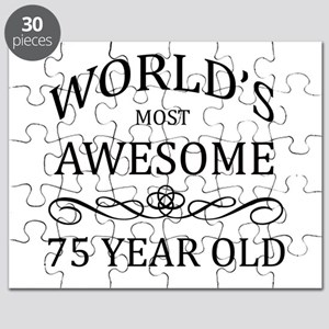 World's Most Awesome 75 Year Old Puzzle