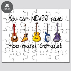 Too many guitars Puzzle