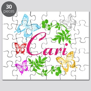 Personalize Name Dancing Butterflies Puzzle