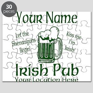 Custom Irish pub Puzzle