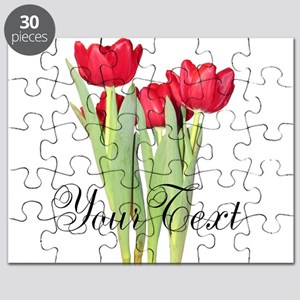 Personalizable Tulips Puzzle