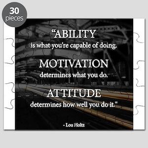 Ability Motivation Attitude Puzzle