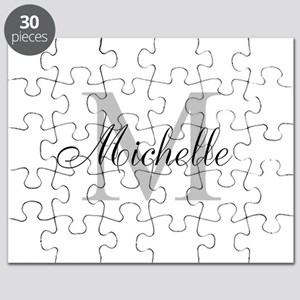 Personalized Monogram Name Puzzle