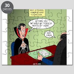 Dracula Life Insurance Puzzle