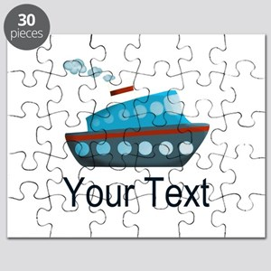 Personalizable Cruise Ship Puzzle